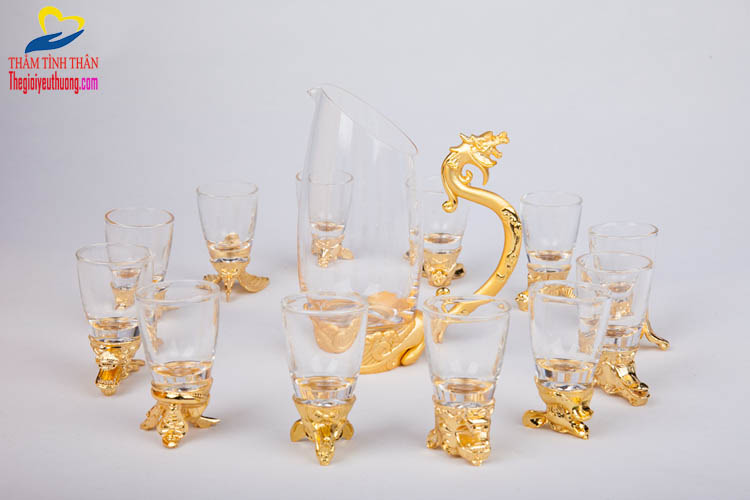 Bộ Ly Uống Rượu 12 Con Giáp