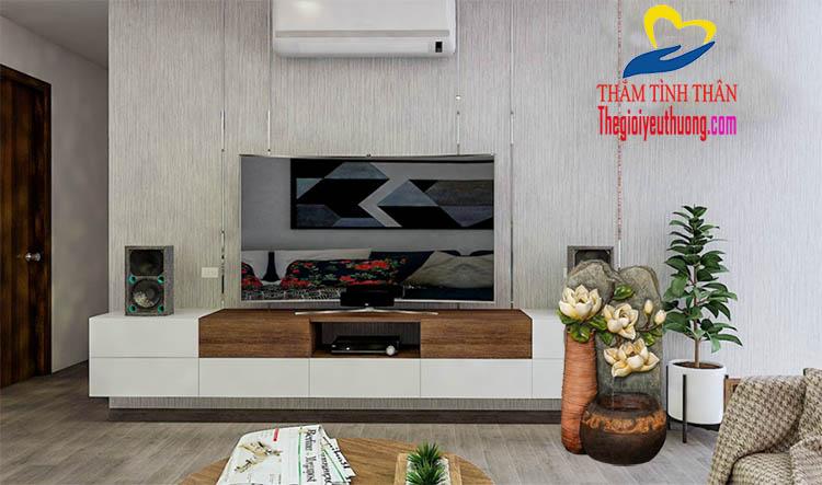 Bài trí Phòng khách căn hộ theo Phong Thủy