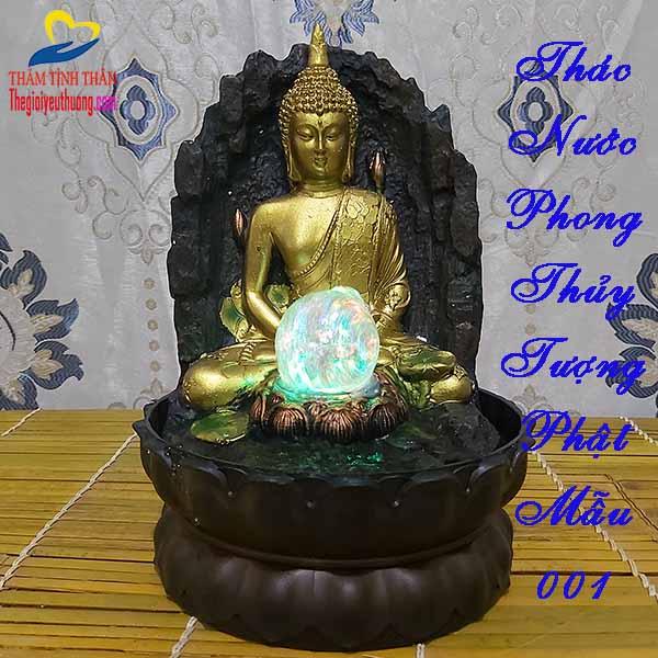 Thác Nước Phong Thủy Tượng Phật Tổ - Phong Thủy - Linh thiêng