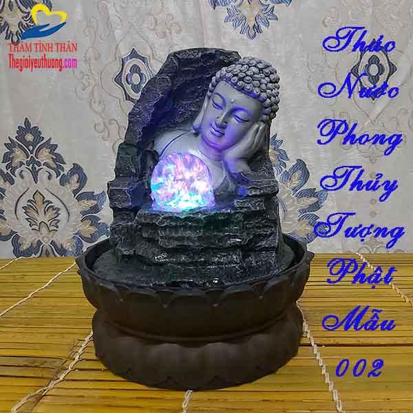 Thác Nước Phong Thủy Tượng Đức Phật Tổ - Phong Thủy - Linh thiêng