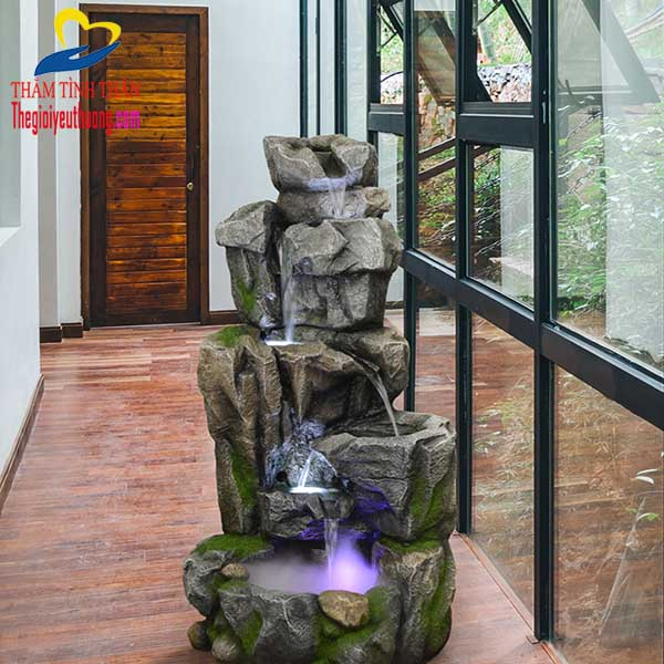 Đài phun nước sân vườn Cõi Thiên Thai