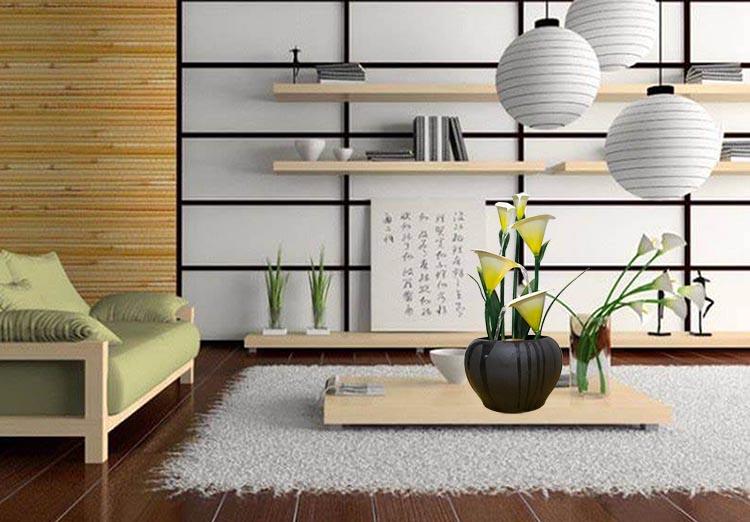 Những Bông RUM-CALLA cho nội thất tươi mới, mềm mại