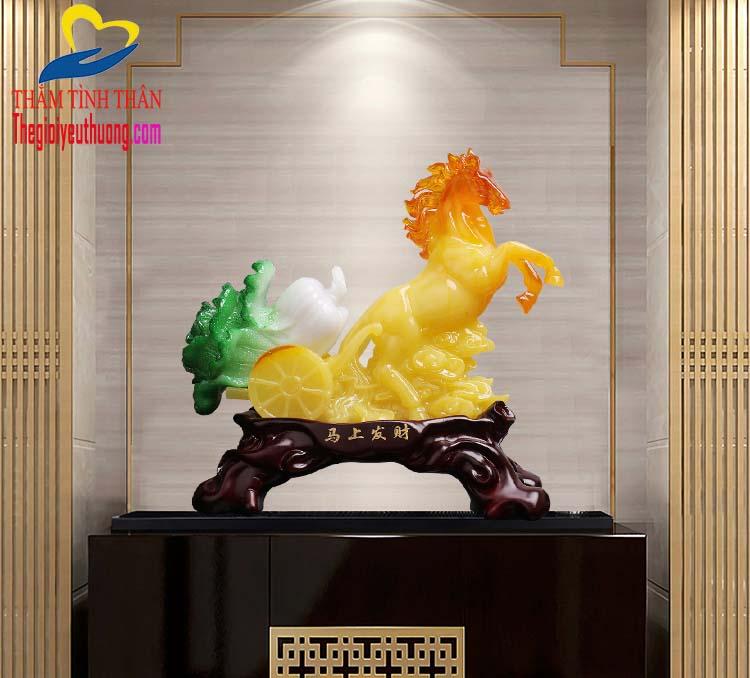 Bài trí Ngựa Phong thủy trong không gian nội thất