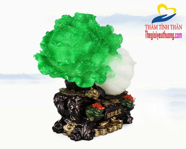 Bắp cải- Rau Phong thủy may Mắn