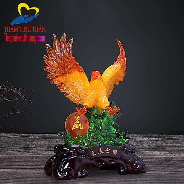 Bức tượng đại bàng tuyệt đẹp
