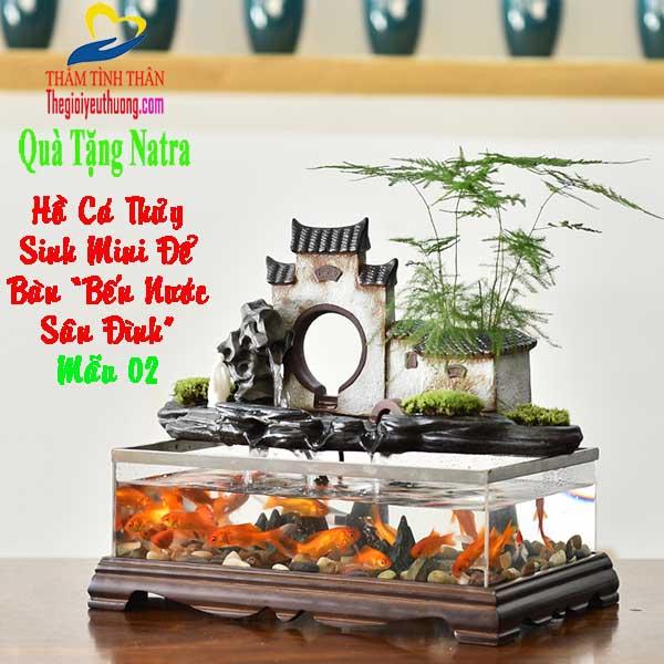 Mẫu Bể cá Mini Hồ thủy Sinh Để Bàn Độc Đáo