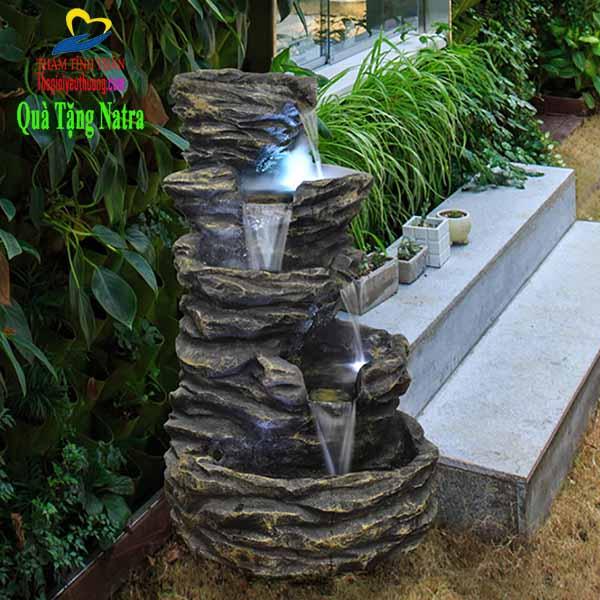 Mẫu thác nước sân vườn ĐẸP